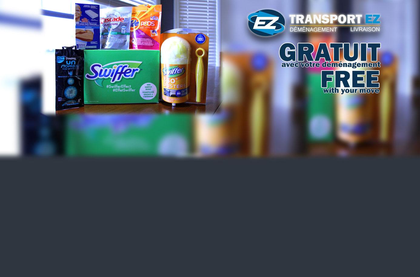 Free Swiffer Kit - Swiffer Gratuit